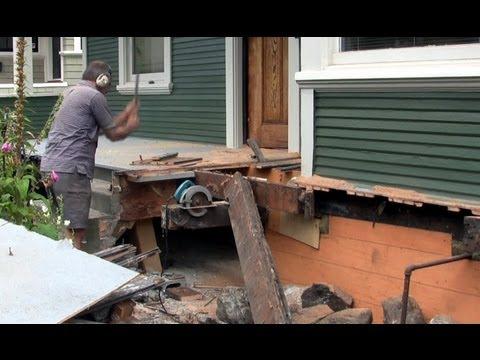 Front Porch Rebuild Part One