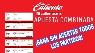 APUESTA SISTEMA   ¡Gana sin acertar todos los pronósticos!   CALIENTE MX  Vídeo tutorial