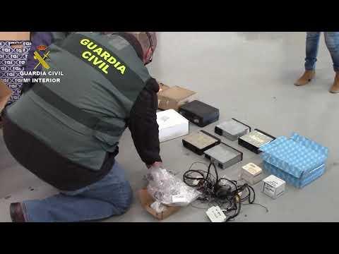 La Guardia Civil desarticula una organización dedicada a la manipulación de tacógrafos digitales
