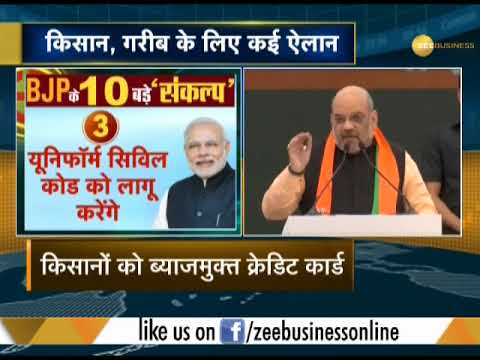 BJP chief Amit Shah presents workings of party
