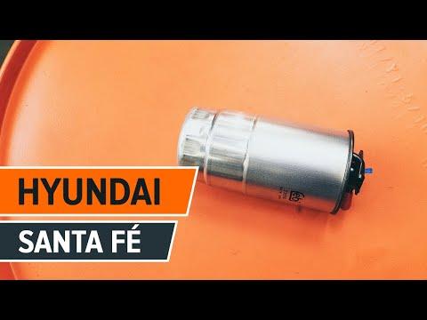 Så byter du bränslefilter på HYUNDAI SANTA FÉ CM GUIDE | AUTODOC