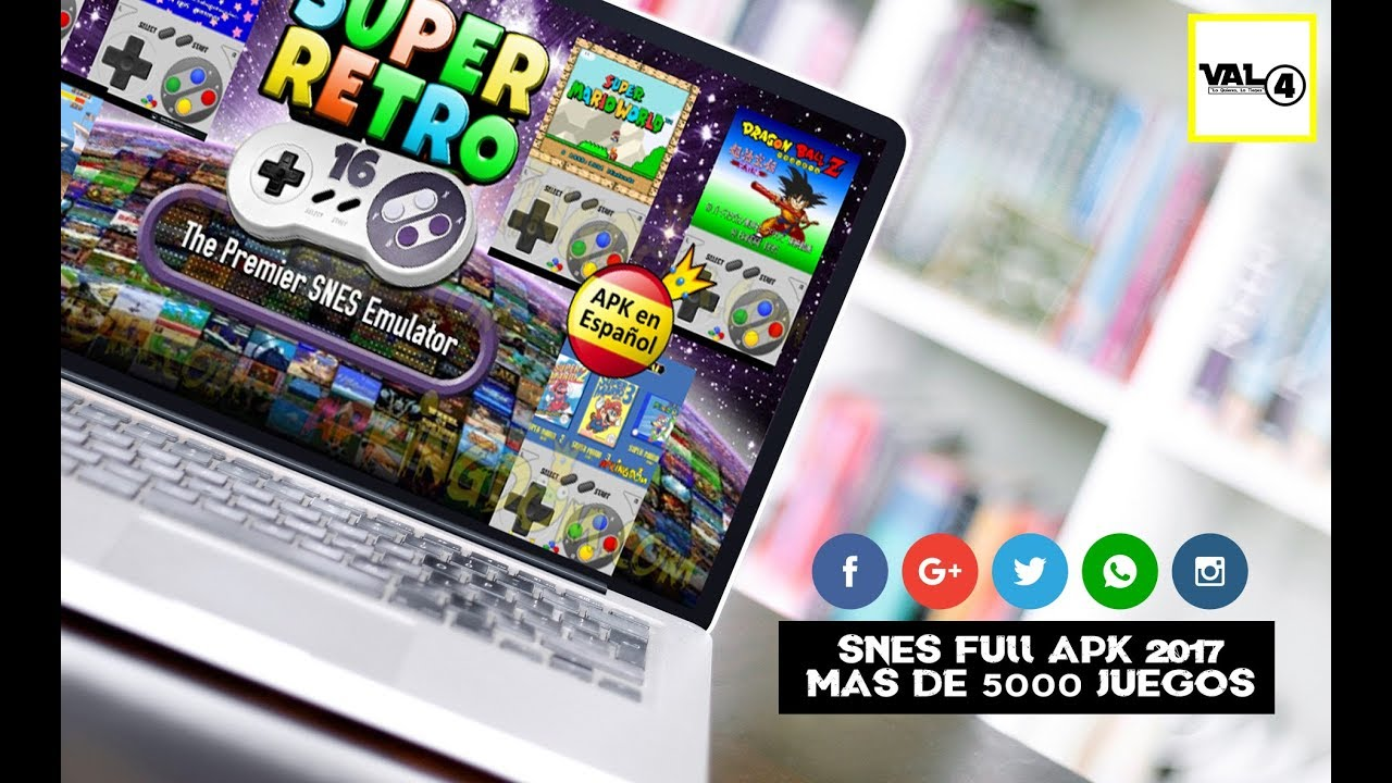 Super Retro Pro Full Snes Android Apk Full 2017 2018 Mas De