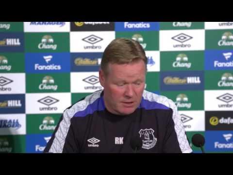 Ronald Koeman's pre-Hull City press conference