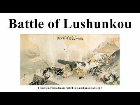 Battle of Lushunkou