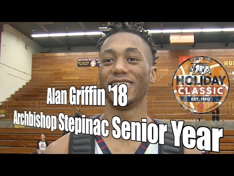 Alan Griffin '18, Stepinac Senior Year at Torrey Pines Holiday Classic