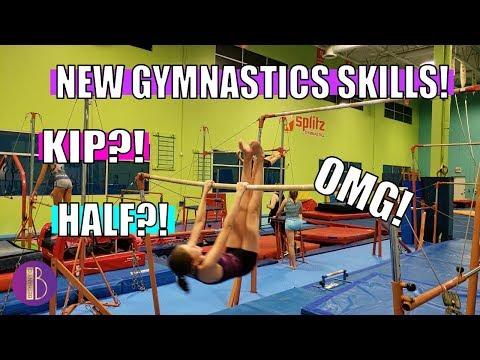 NEW GYMNASTICS SKILLS! | Unseen Gym Clips | Bethany G
