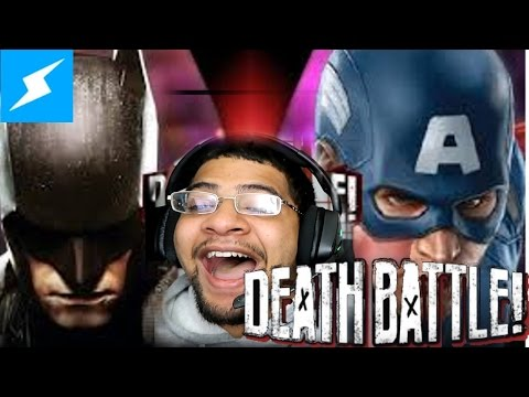 Screw Attack Batman VS Captain America Death Battle REACTION