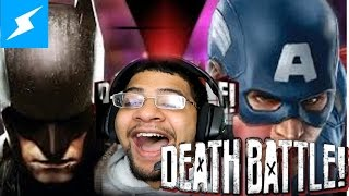 Screw Attack Batman VS Captain America Death Battle REACTION
