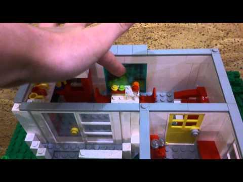 Как построить из лего дом
