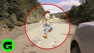 TOP 5 REAL TOY STORY CHARACTERS CAUGHT MOVING ON CAMERA& SPOTTED IN REAL LIFE!!