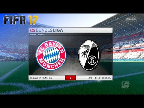 FIFA 17 - FC Bayern München vs. SC Freiburg @ Allianz Arena