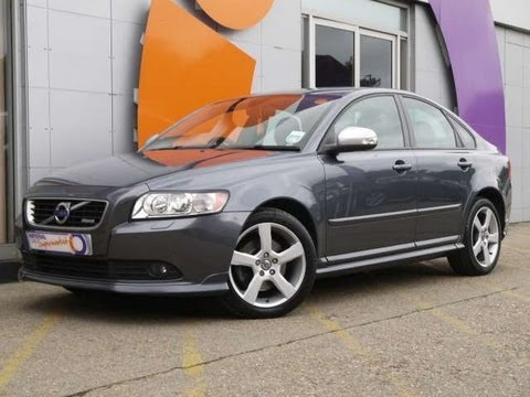2010 volvo s40 r design t5 2 5t grey saloon for sale in. Black Bedroom Furniture Sets. Home Design Ideas