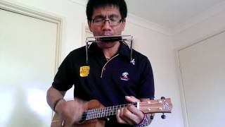 Just the way you are (uke n harmonica cover)