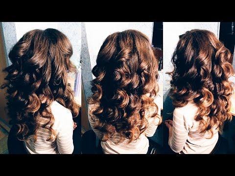 КРУПНЫЕ / ВОЗДУШНЫЕ / ОБЪЕМНЫЕ ЛОКОНЫ   Локоны на средние волосы   BIG BOUNCY CURLS   LOZNITSA