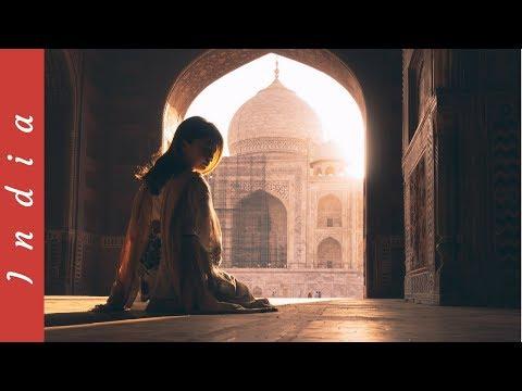 TAJ MAHAL, BEST CHAI MASALA TEA & DYING INDIAN ARTS. Agra, India