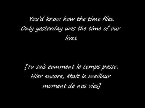 Adèle Someone like you , Traduction