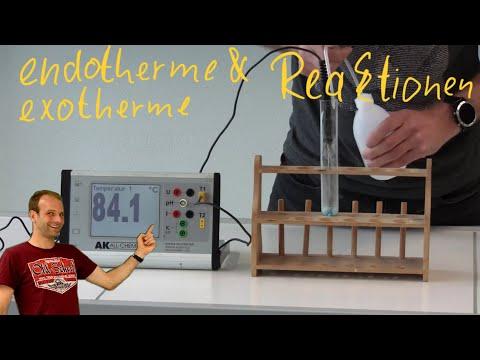 Exotherme und endotherme