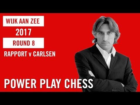Tata Steel Chess Tournament 2017 Round 8 Rapport v Carlsen
