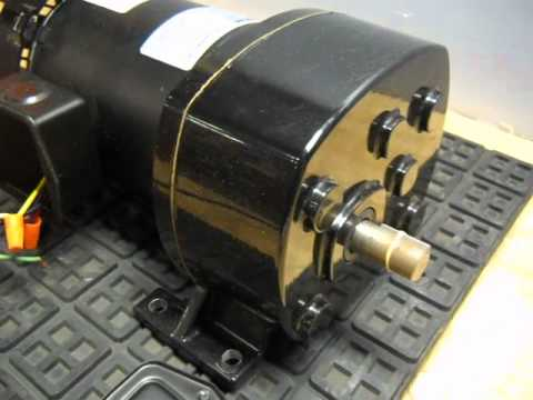 Bison Gear Motor 43026 Youtube