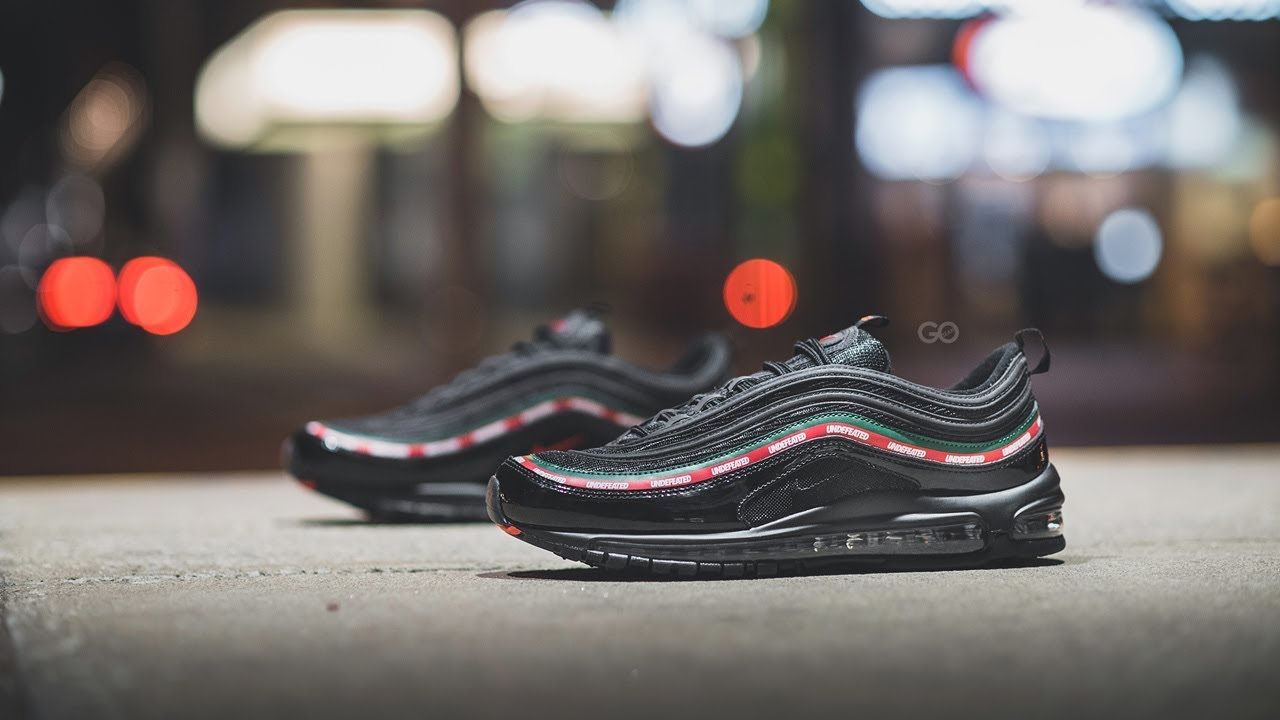 nike x undefeated air max 97 Weiß