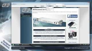 ESI M4U XL / M8U XL - Treiberinstallation unter Windows