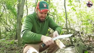 непальский Кукри в работе - живой тест в российском лесу.
