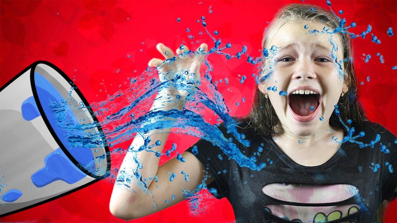 появилась смешные картинки с водой во рту временем она начала