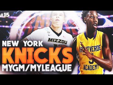 RJ BARRETT MAKES ALLSTAR TEAM AS A ROOKIE! | NBA 2K18 KNICKS MYLEAGUE #15