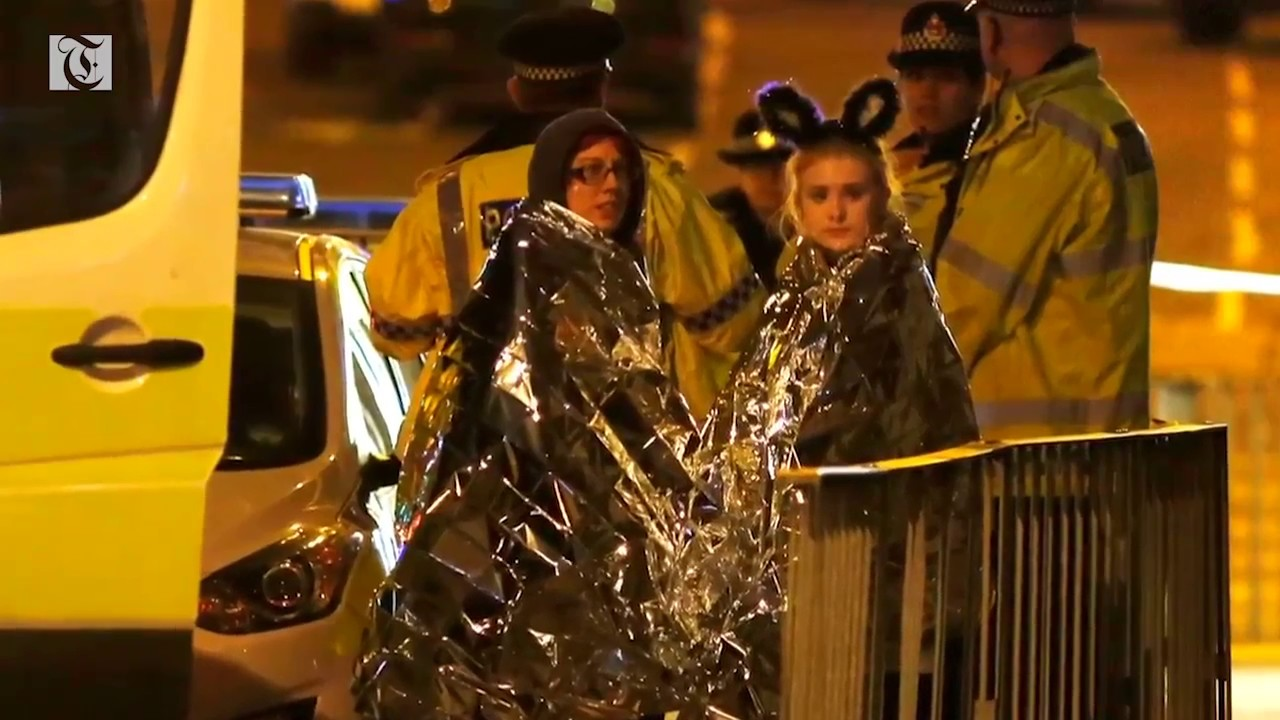 'Suicide' blast at Ariana Grande show kills at least 19