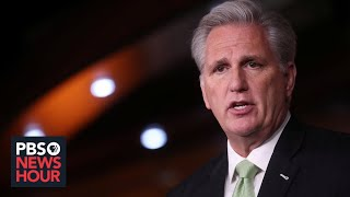 WATCH LIVE: House Minority Leader Kevin McCarthy holds news conference