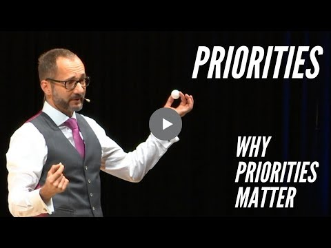 Priorities: Why priorities matter