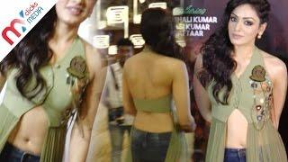 Bollywood Singer Khushali Kumar Hot Navel Show || Celeb Zone