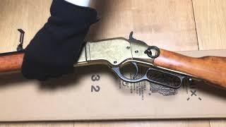 Винтовка Винчестер США, 1866 г, латунь, Mod.66 Carbine By Winchester, USA 1866, Denix 1140/L