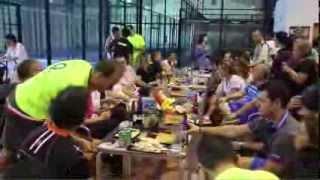 Cena en Gusanillo sport