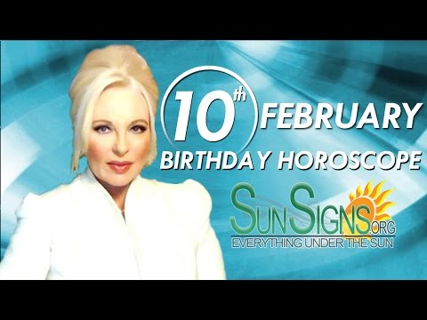 Birthday February 10th Horoscope Personality Zodiac Sign Aquarius Astrology