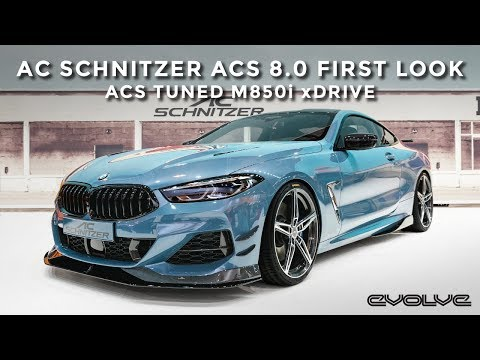 First Look at the AC Schnitzer ACS 8.0 - Tuned 600bhp M850i xDrive