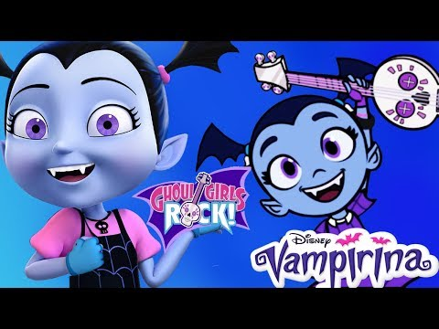 Vampirina Ghoul Girls Rock Band Music Disney Junior App For Kids
