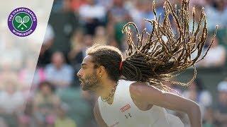 Dustin Brown's perfect opening game vs Rafael Nadal | Wimbledon 2015