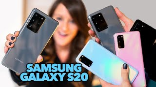 Samsung Galaxy S20 Devices | First Impressions!
