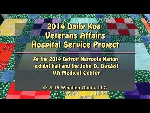 2014 Daily Kos Veterans Affairs Hospital Service Project