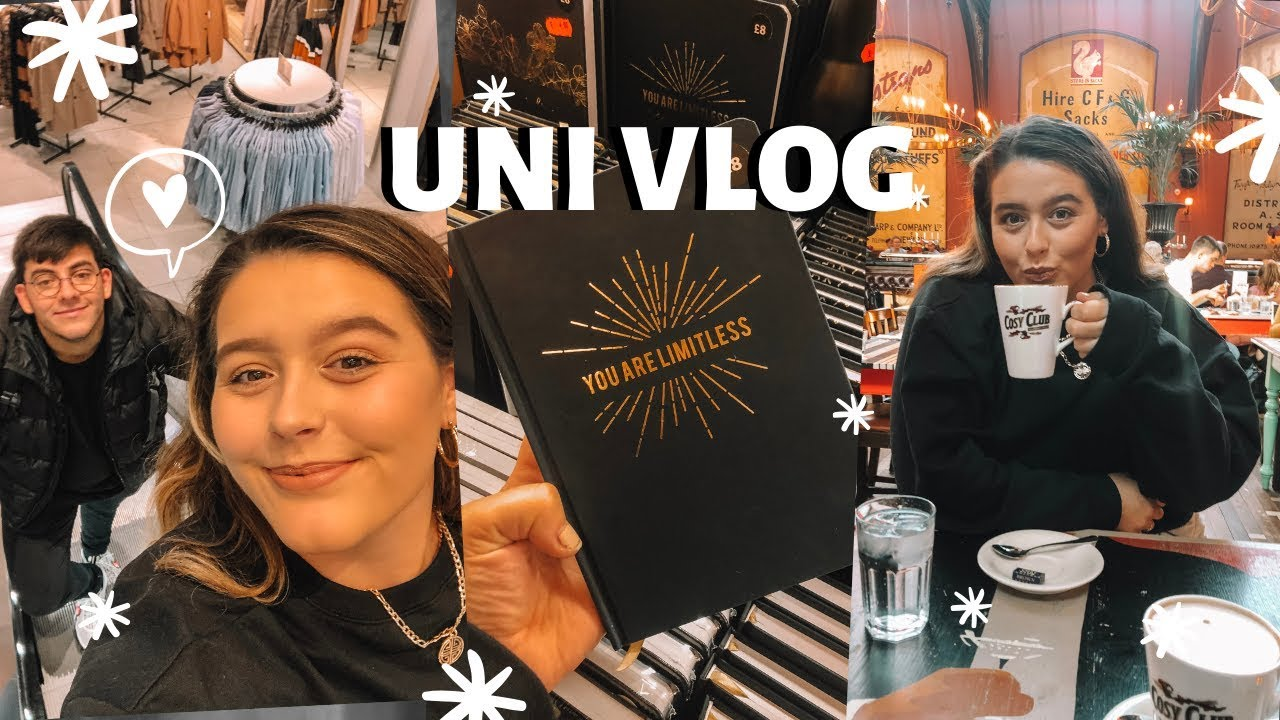 UNI VLOG | Baking, Assessment Prep + MY BOYFRIEND VISITS!!