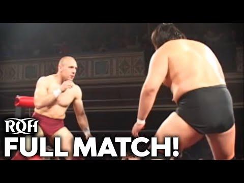 Throwback Thursday: Takeshi Morishima vs Bryan Danielson