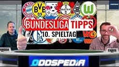 BUNDESLIGA VORHERSAGE TIPPS #10 ⚽️ Prognose und Tipphilfe zum 10. Spieltag der Saison 2019/2020
