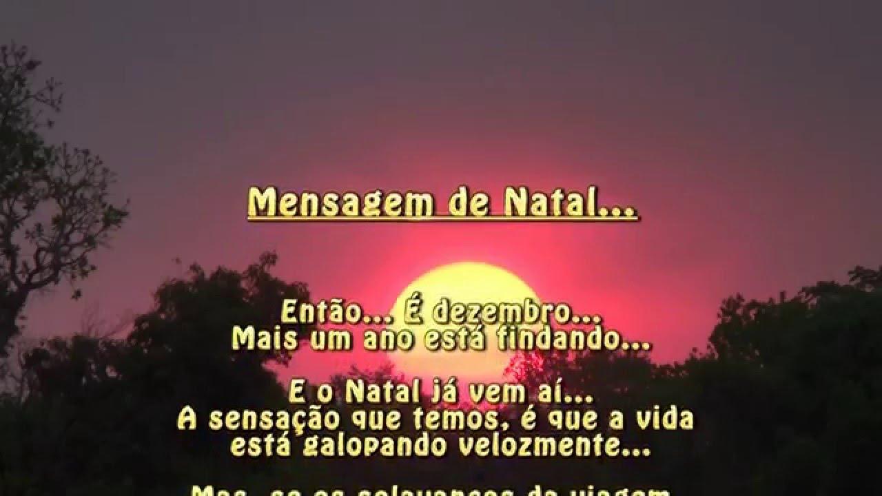 Mensagem De Natal E Ano Novo, Mensagem De Boas Festas