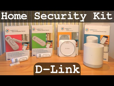 D-Link Home Security Kit | Unboxing - Full Configuration Tutorial - Test | DCH G020 Z110 Z120 Z510