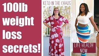 100LBS WEIGHT LOSS SECRETS - TWO WOMEN LOST 100 LBS EACH