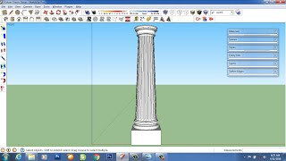 Video tutorial column classic with sketchup download MP3, 3GP, MP4, WEBM, AVI, FLV Desember 2017