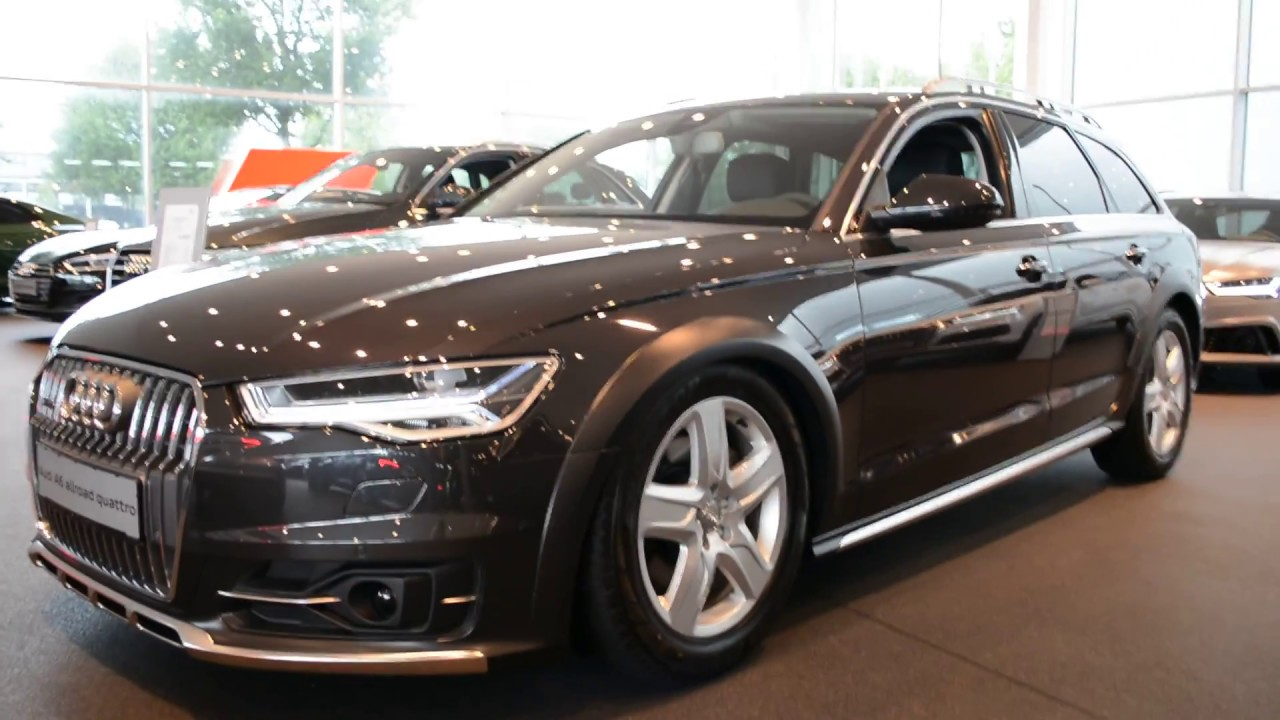2017 new audi a6 allroad exterior and interior youtube. Black Bedroom Furniture Sets. Home Design Ideas
