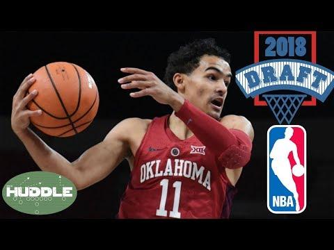 Oklahoma prodigy Trae Young JOINING 2018 NBA Draft  Huddle