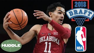 Oklahoma prodigy Trae Young JOINING 2018 NBA Draft | Huddle